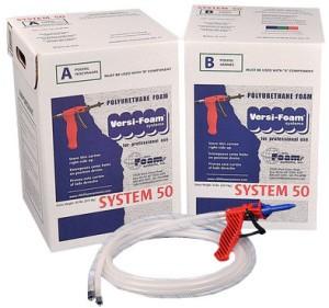 Пенополиуретан ППУ своими руками самостоятельно в домашних условиях Spray Polyurethane Foam Kit VERSI-FOAM