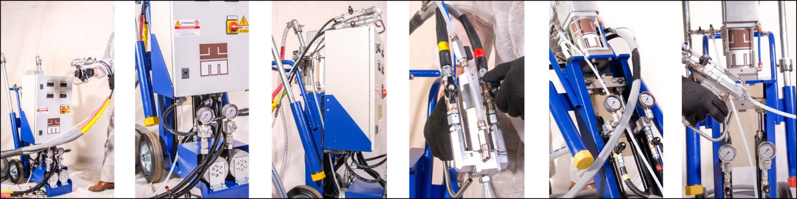 Установки высокого давления graco isoltec gamma PROton Evolution 4pu ppu gge производители
