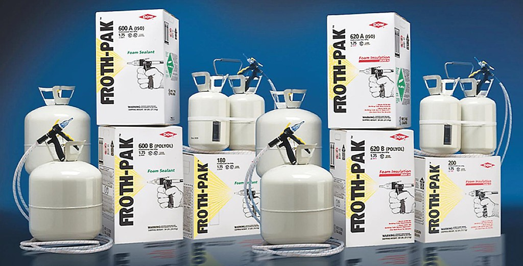 Froth Pack Dow ппу своим руками Foam Kit пенополиуретан напыляемый