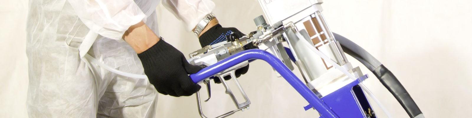 обзор всех установок высокого давления для напыления ППУ и полимочевины