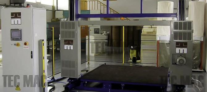 TEC MAC polyurethane machine оборудование поролон ппу установка высокого давления для напыления и заливки поролон производство POLYTEC, ISOLBLOCK,