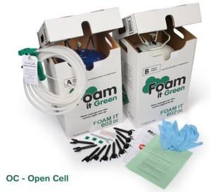 Foam in Green напыление пенополиуретана своим руками