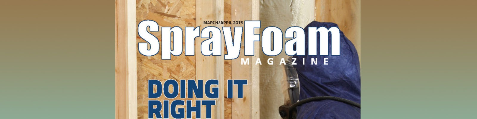 SPRAYFOAM MAGAZINE МАРТ_АПРЕЛЬ 2015