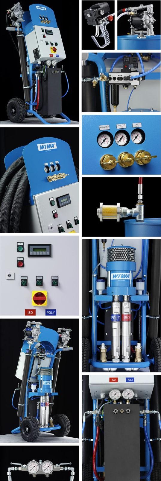 WIWA doumix 420 установки высокого давления