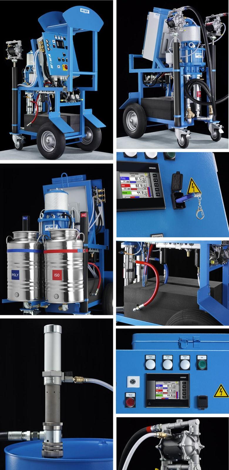 WIWA doumix 460 установки высокого давления