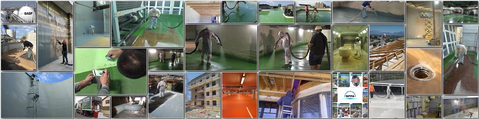 Самые свежие фото и видео о напылении ППУ и полимочевины
