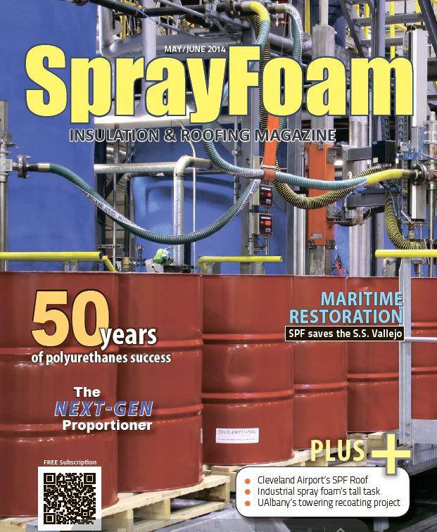 sprayfoam журнал о напылении пенополиуретана и полимочевины