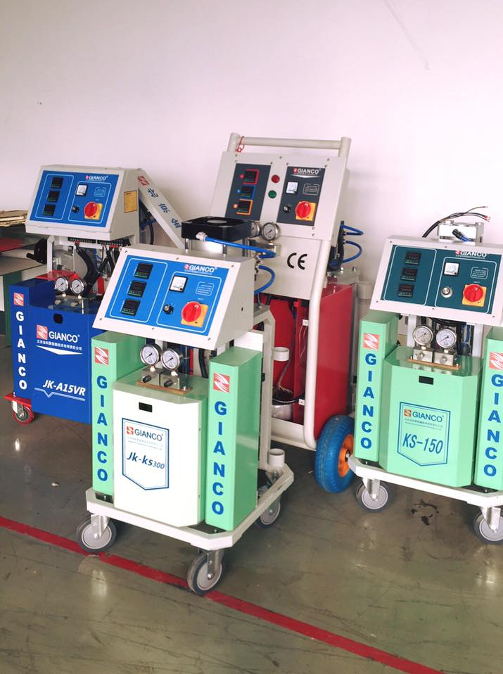 Китайские установки от Jinke PU