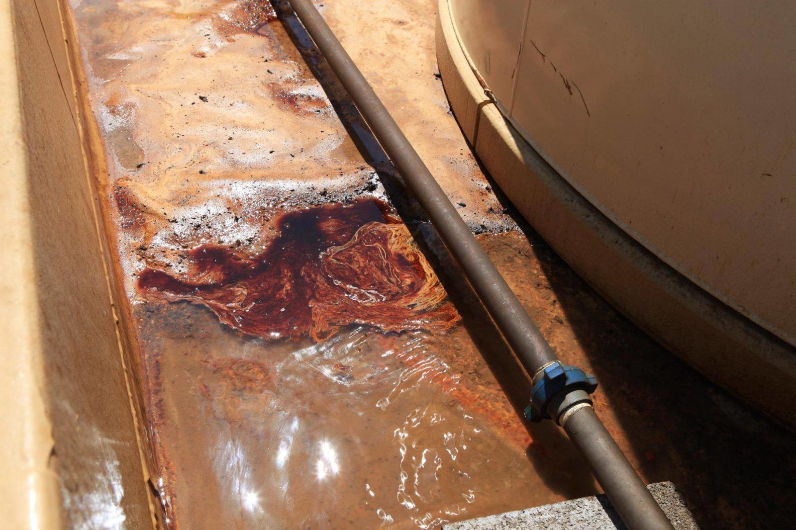 Зона розлива нефтепродуктов полимочевина в нефтяной промышленности_00007