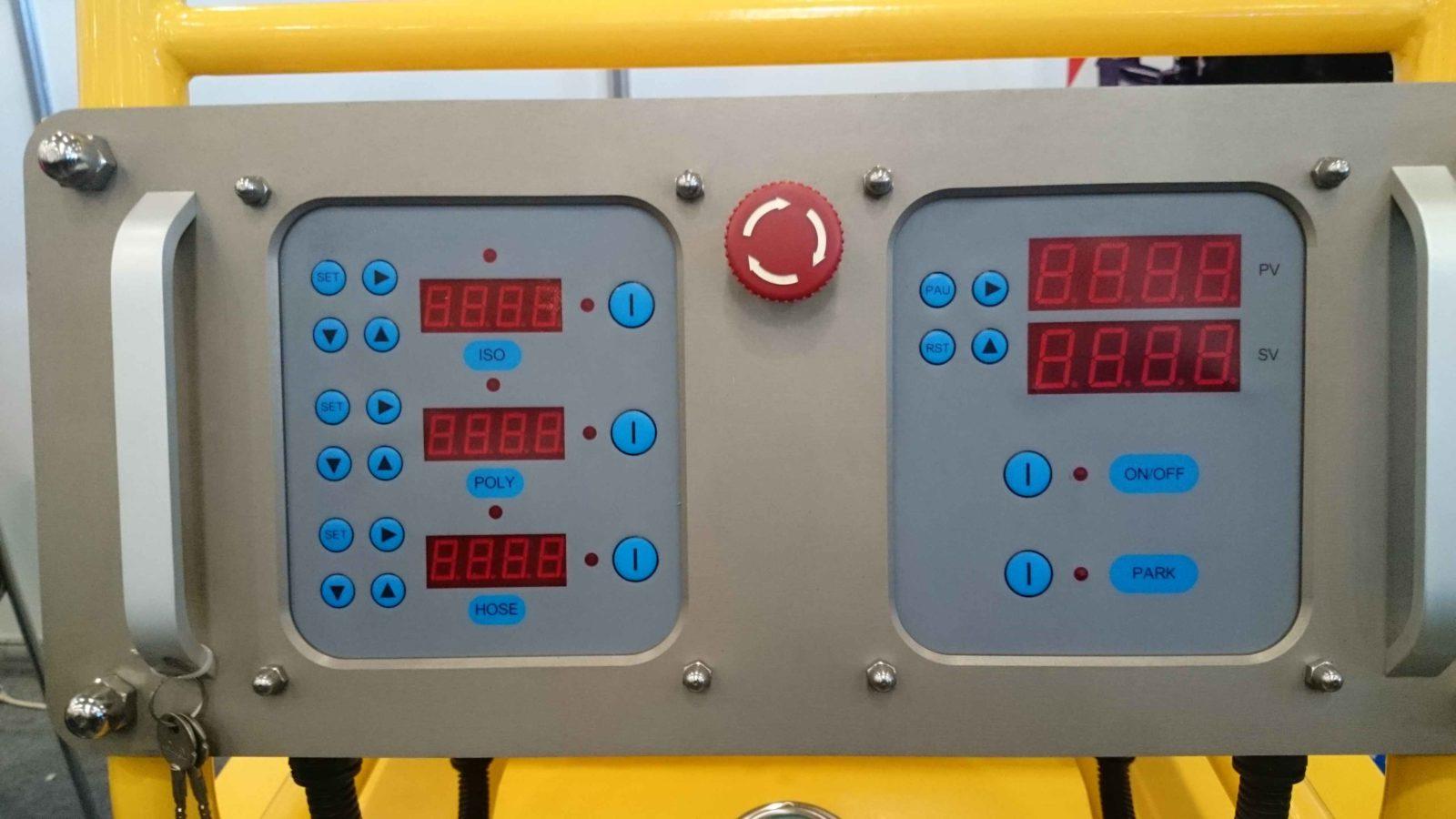 Панель управления Японской установки Saijun SNS Technology