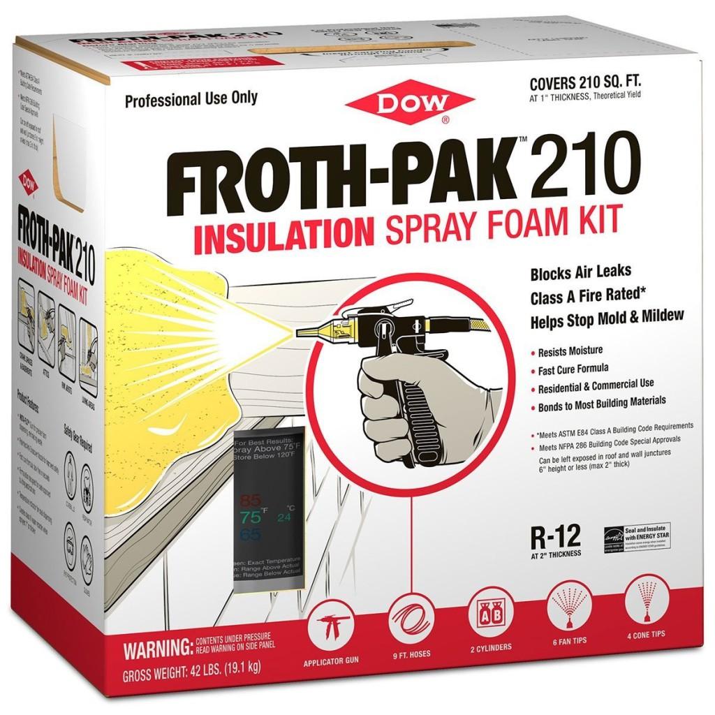 FROTH-PAK™ 210 Dow комплект для напыления ППУ своими руками фрот пак фрошпак