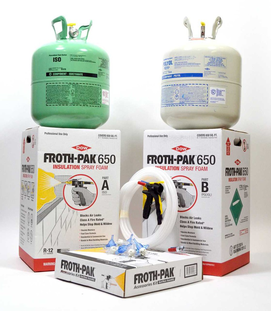 FROTH-PAK 650 Dow