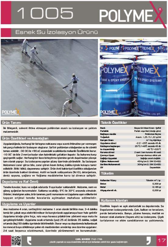 ARF POLYMEKS CHEMICALS LTD POLYMEX полиуретановые покрытия_00012