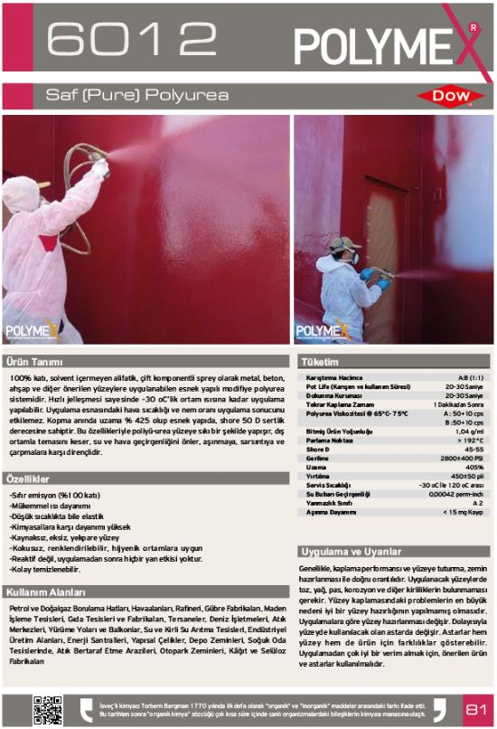 ARF POLYMEKS CHEMICALS LTD POLYMEX полиуретановые покрытия_00035