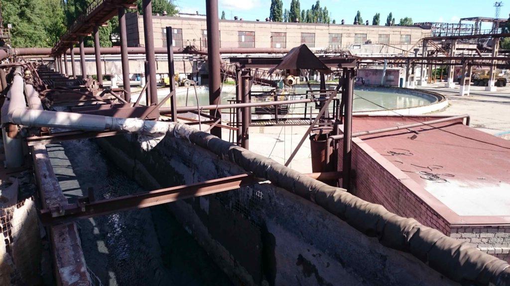 Ремонт очистных сооружений ремсоставом ЛАХТА быстрый ремонт и полимочевиной