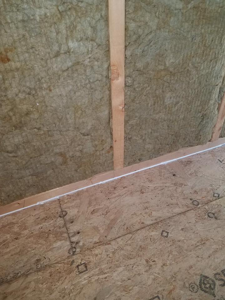 герметизация каркасного деревянного коттеджа