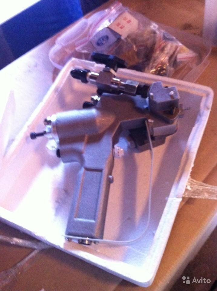 пистолет для ППУ установки